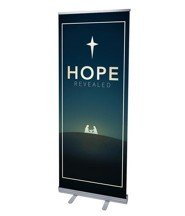 Hope Revealed (31 inch x 79 inch) RollUp Banner