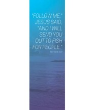 Color Wash Matt 4:19 (2' x 6') Vinyl Banner
