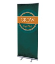 Together Circles Grow (31 inch x 79 inch) RollUp Banner