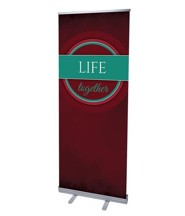 Together Circles Life (31 inch x 79 inch) RollUp Banner
