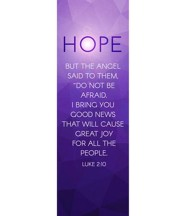 Advent Luke 2 Hope (2' x 6') Vinyl Banner