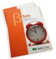 Math-U-See Beta Student Pack (for an Additional Student)