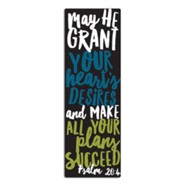 Graduate Success Bookmark, Black