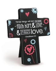 Faith, Hope, and Love Cross, Small