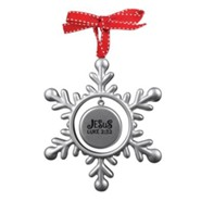 Jesus (Luke 2:32), Snowflake Ornament