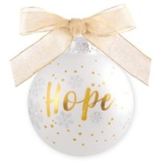 Hope, For Unto Us A Child Is Born, Ornament