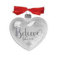Believe (John 3:16), Reflecting God's Love Ornament