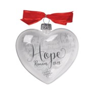 Hope (Rom 15:13), Reflecting God's Love Ornament