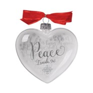 Peace (Isaiah 9:6), Reflecting God's Love Ornament