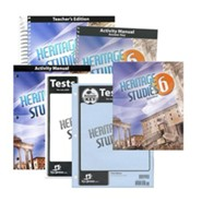 BJU Heritage Studies Grade 6 Homeschool Kit (Updated Third  Edition)