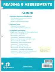 Reading 5 Assessments & Key (2nd Edition)