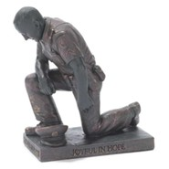Police Officer, Prayer Figurine