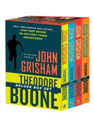 Theodore Boone Boxed Set (Volumes 1 - 4)