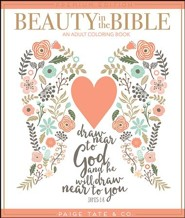 Beauty in the Bible: An Adult Coloring Book (Premium)