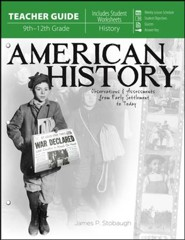 American History: Observations and Assessments from Creation to Today, Teacher Guide