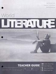 World Literature: Cultural Influences of Early to Contemporary Voices, Teacher Guide