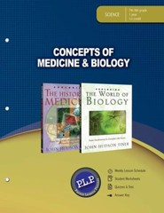 Concepts of Medicine & Biology Teacher Guide