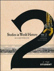 Studies in World History Volume 2, Student Book