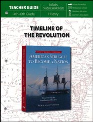 Timeline of Revolution - America's Struggle to Become a Nation Teacher Guide