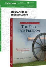 Biographies of the Revolution Pack, 3rd-6th Grade, 2 Volumes