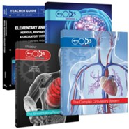 Elementary Anatomy Pack, 4th-6th Grade, 4 Volumes