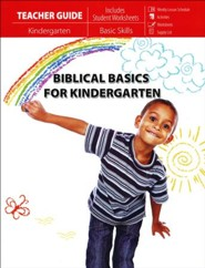 Biblical Basics for Kindergarten - Teacher Guide