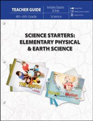 Science Starters: Elementary Physical & Earth Science (Teacher Guide)