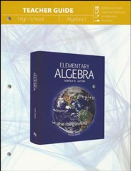 Elementary Algebra Teacher Guide