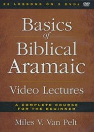 Basics of Biblical Aramaic: Video Lectures on DVD