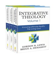 Integrative Theology, 3 Volume Set