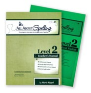 All About Spelling Level 2 (Teacher's Manual & Student Pack)