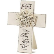 Together Forever, Roses, Tabletop Cross