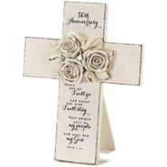 50th Anniversary Tabletop Cross
