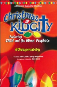 Christmas In KidCity, Choral Book