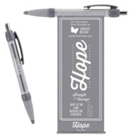 Hope Pull-Out Banner Pen, Gray