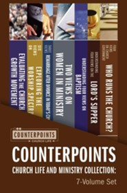 Counterpoints Church Life and Ministry Collection: 7-Volume Set  -     By: Paul E. Engle, John H. Armstrong