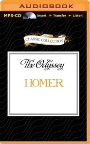 The Odyssey - unabridged audiobook on MP3-CD  -     Narrated By: John Lescault     By: Homer
