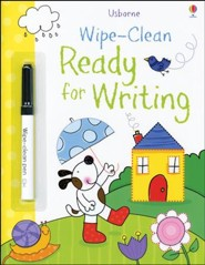 Usborne Wipe-Clean: Ready for Writing