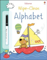 Usborne Wipe-Clean: Alphabet
