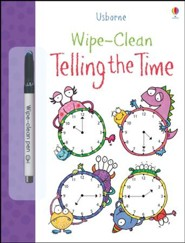 Usborne Wipe-Clean: Telling the Time