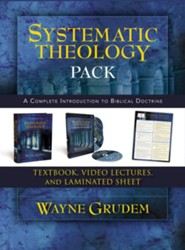 Systematic Theology Pack: A Complete Introduction to Biblical Doctrine  -     By: Wayne A. Grudem