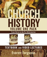 Church History, Volume One Pack: From Christ to the Pre-Reformation