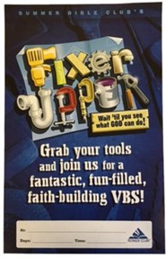 Fixer-Upper VBS: Promotional Poster