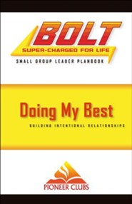 BOLT Doing My Best: Small Group Planbook