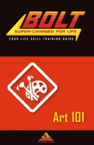 BOLT Art 101 Life Skill Training: Guide for Kids, 5 pack