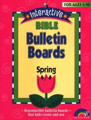 Interactive Bible Bulletin Boards:  Spring