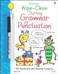 Usborne Wipe-Clean: Starting Grammar and Punctuation