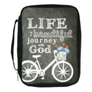 Life Is A Beautiful Journey With God Bible Cover, Large