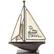 I Can Do All Things Through Christ Sailboat, Small