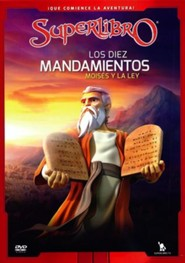 Superlibro: Los diez mandamientos, Moises y la ley (Superbook: The Ten Commandments, Moses and the Law), DVD